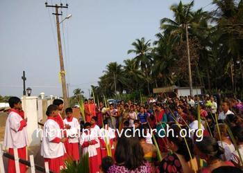 2018: Palm Sunday at Our Lady Of Perpetual Succor Church, Nirmalapadav