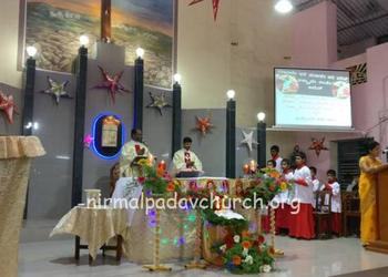 Christmas 2017 celebrated with Devotion and Joy at O.L.o.P.S.C, Nirmalpadav, Parapady, Nitte, Karkala