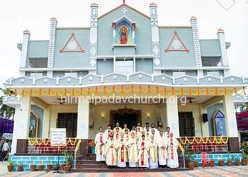 The inauguration of the newly renovated church and golden jubilee celebrations of the church
