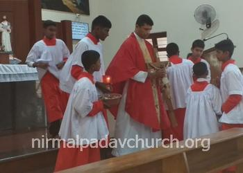 Good Friday was observed with great devotion and faith at Nirmalpadav Church