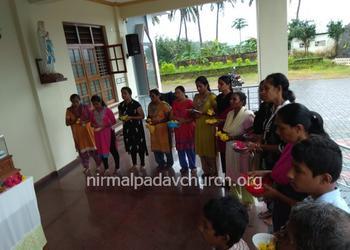 Monthi Fest Novena - Day 5 at Nirmalpadav Church