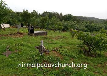 Nirmalpadau parishioners undertook Cemetery Cleaning