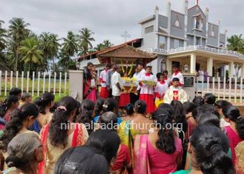 Nativity of Mother Mary Feast celebrated with great devotion and fervor at Our Lady of Perpetual Succour Church, Nirmalapadav