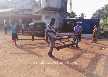 Renovation works of O.L.o.P.S Church begins at Nirmalpadau, Parapady