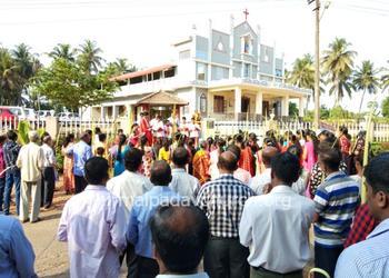 Palm Sunday observed at Nirmalpadav Church