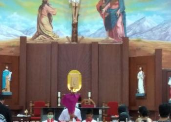 Good Friday observed at Our Lady of Perpetual Succour Church, Nirmalpadav