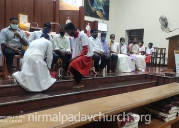 Our lady of Perpetual Succour church, Nirmalpadav observes Maundy Thursday